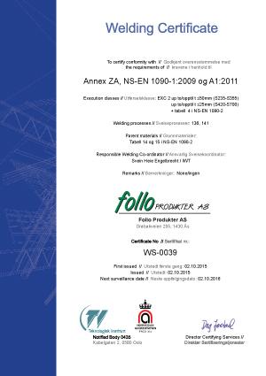 Welding-Certificate-2015