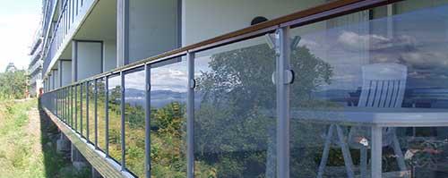 rekkverk til terrasse